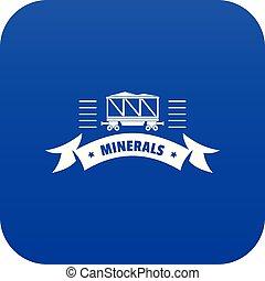μπλε , φορτίο , μικροβιοφορέας , βαγόνι , εικόνα