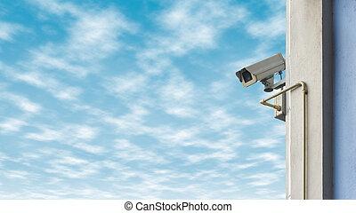 μπλε , φόντο. , αξίες κάμερα , ουρανόs