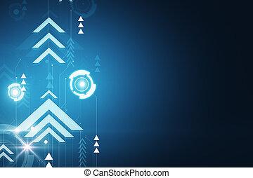 μπλε , backdrop , ψηφιακός