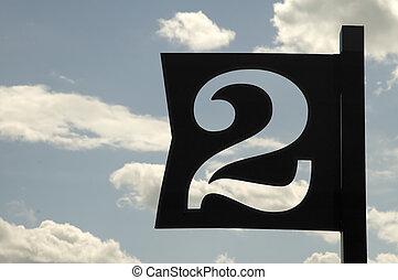μπλε , c , αριθμητική 2 , σήμα