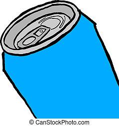 μπλε , cans