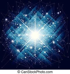 μπλε , polygonal, διάστημα , αφαιρώ , poly, σκοτάδι , φόντο. , αποσιωπητικά , lines., συνδετικός , χαμηλός , φόντο
