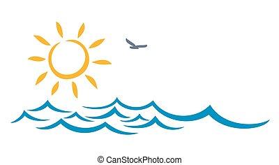 μπλε , sun., θάλασσα