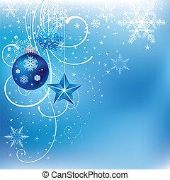 μπλε , xριστούγεννα , φόντο