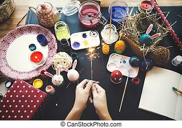 μπογιά , αυγά , γενική ιδέα , πόσχα , ημέρα