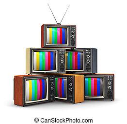 μπογιά tv , γριά , θημωνιά