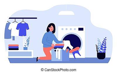 μπουγάδα , γυναίκα
