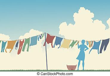 μπουγάδα , ημέρα