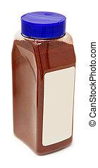 μπουκάλι , από , αγγαρεία paprika