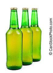 μπουκάλι μπύραs , ιδρωμένος