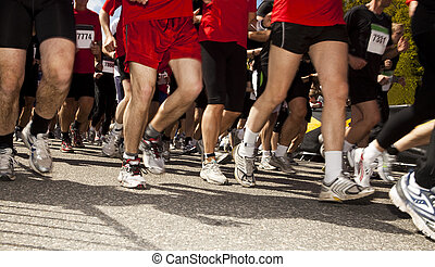 μπόλικος , από , ακόλουθοι αναμμένος ανάλογα με , τρέξιμο , αγώνας