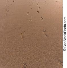 μπόλικος , πατημασιά , παραλία , αμμώδης