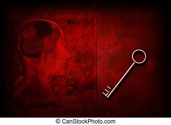 μυαλό , κλειδί