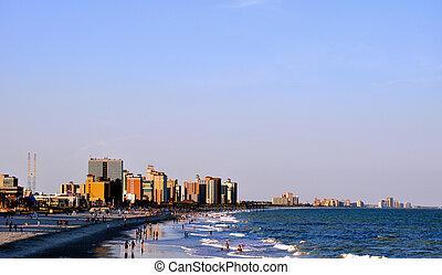 μυρτιά , παραλία , ακτογραμμή