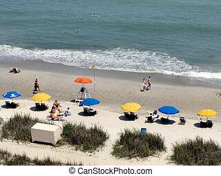 μυρτιά , παραλία