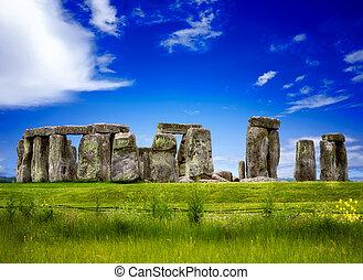 μυστηριώδης , stonehenge