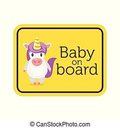 μωρό , ασφάλεια , πίνακας , σήμα