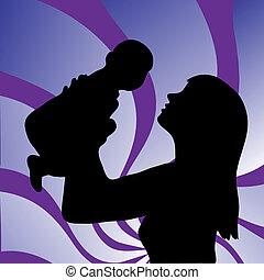 μωρό , γυναίκα , νέος