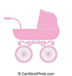 μωρό , καροτσάκι βρέφους , άμαξα , -