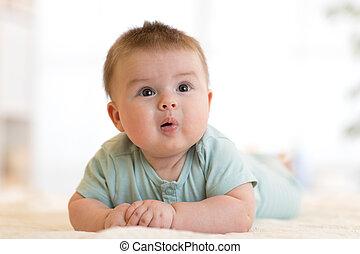μωρό , πορτραίτο , αστείος , αγόρι
