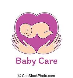 μωρό , φόρμα , προσοχή