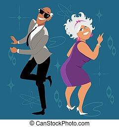 μωρό , χορός , boomers