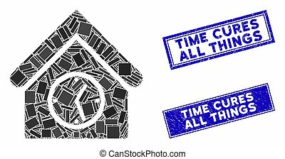 μωσαικό , ώρα , ορθογώνιο , ένδειξη γραμμής ασφαλείας , όλα , στενοχωρώ , αξίωμα εφημερίου , ρολόι , αδυναμία , κτίριο