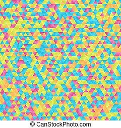 μωσαικό , triangles., ευφυής , φόντο , γραφικός