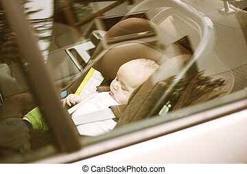 μόνος , αυτοκίνητο , μωρό , μετοχή του forget