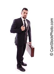 μόνο , businessman.