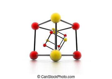 μόριο , δομή