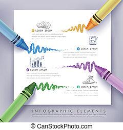 μόρφωση , μολύβι , επιχείρηση , infographics