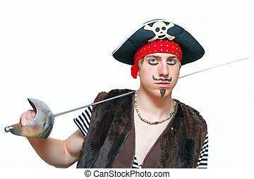 νέος , πειρατής