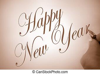 νέο έτος , ευτυχισμένος