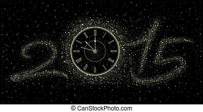 νέο έτος , ρολόι