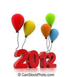 νέο έτος , 2012