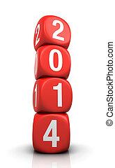 νέο έτος , 2014