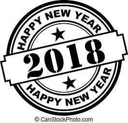 νέο έτος , 2018, σφραγίζω