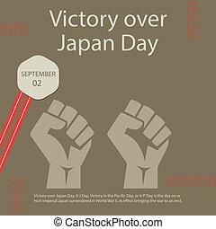 νίκη , πάνω , ιαπωνία , ημέρα