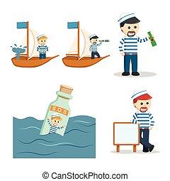 ναύτηs , αναθέτω διάταξη , εικόνα , άνθρωποι