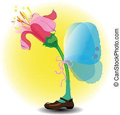 νεράιδα , λουλούδι