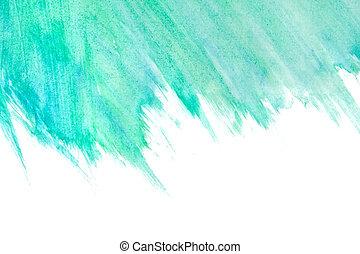 νερομπογιά , απεικονίζω , αφαιρώ , φόντο , χέρι