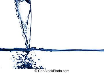 νερό , αλίσκομαι