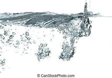 νερό , αφρίζω