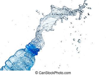 νερό , βουτιά , έξω , από , γυαλί