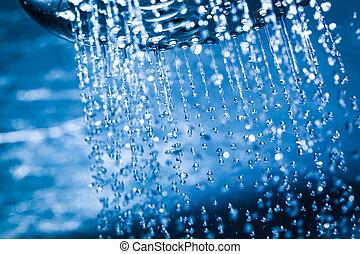 νερό , καθαρά , shower., ρεύση