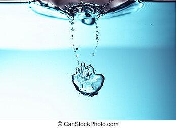 νερό , φρέσκος , αφρίζω