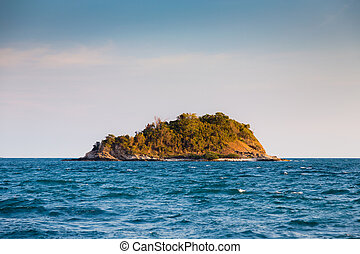 νησί , μοναχικός