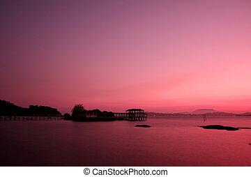 νησί , πρωί , pangkor