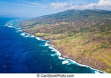 νησί , molokai , ακτογραμμή